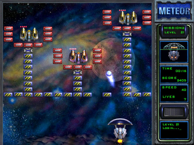Meteor, Breakout, Arcanoid, Game, Action, Arcade, Shareware Game,  Game,