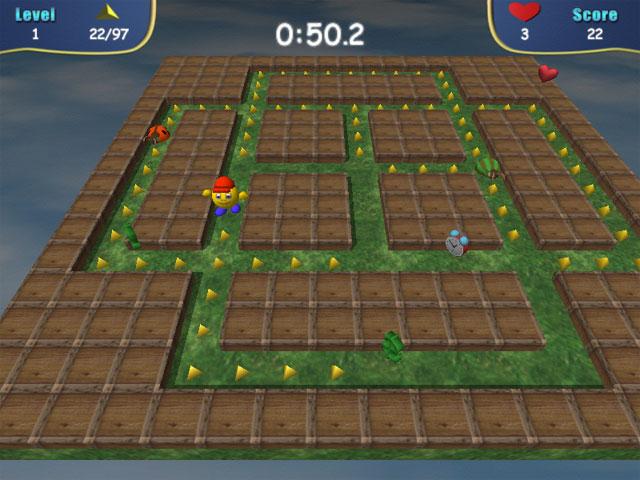 Pacman 3d games downloads.